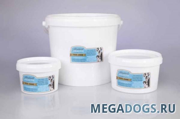 Animal Health Витаминная добавка для собак Vitamin 2000-шерсть, кожа, мышцы